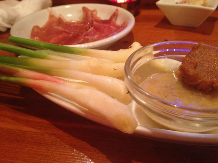 谷中しょうがの味噌塩ダレ