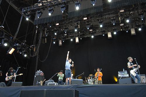 kemuriのステージ