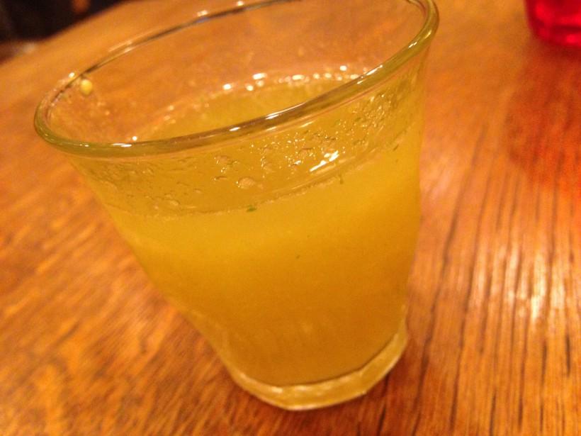 俺のハンバーグ山本 野菜ジュース