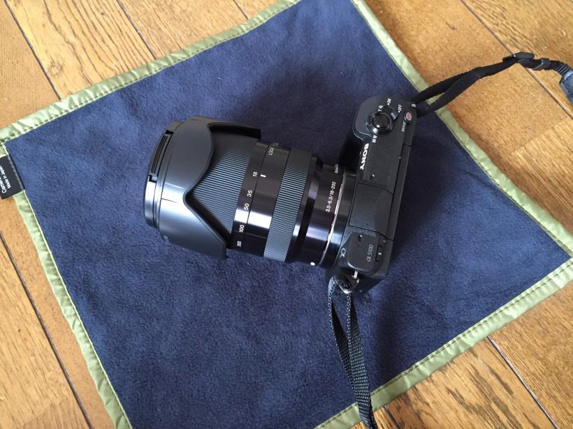 HAKUBAカメララップとSEL18200LE