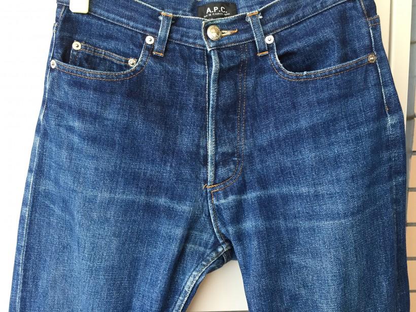 A.P.C バトラープログラムに出したジーンズの股間あたり