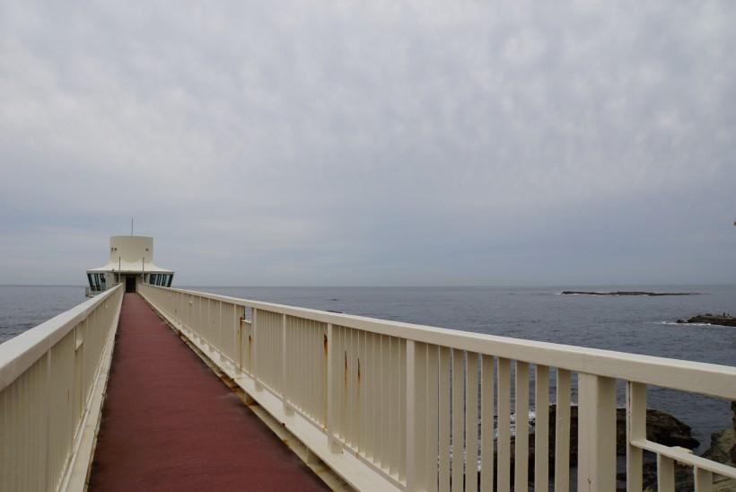 海中公園 海の上の橋
