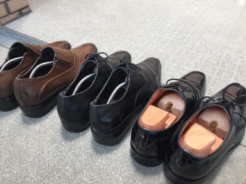 革靴のメンテナンス