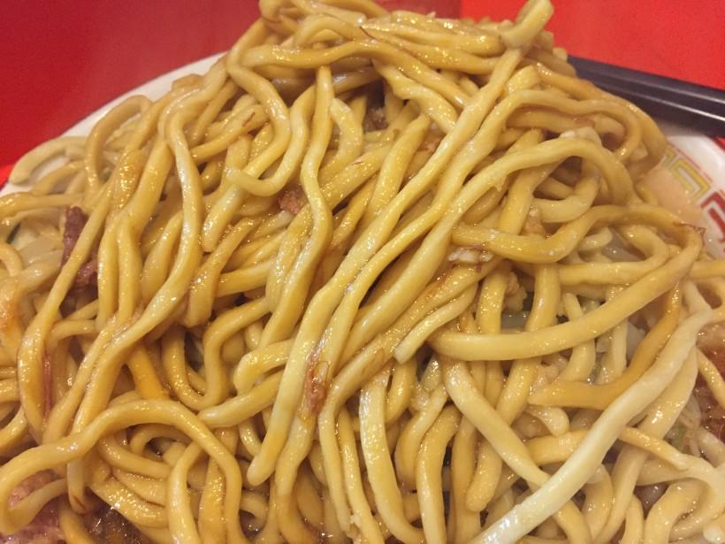 ラーメン二郎 仙川店 麺