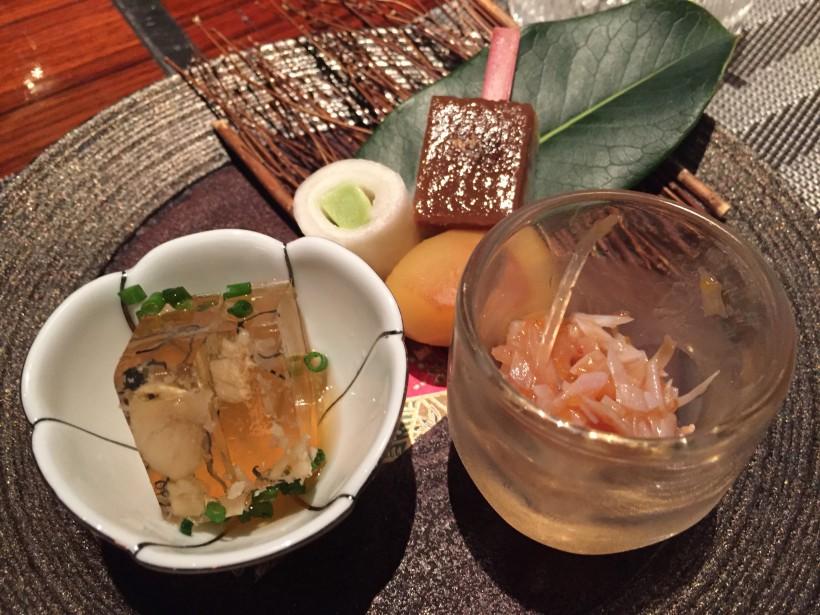 Ginza KOSO 季節の前菜