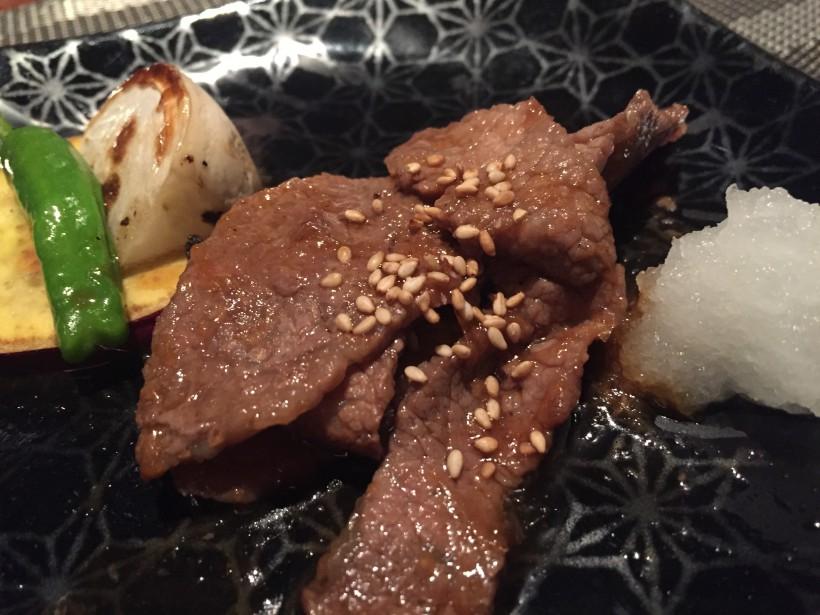 Ginza KOSO 黒毛和牛の炙り