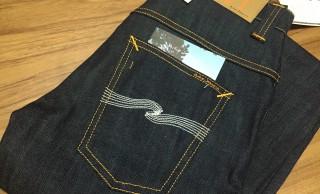 Nudie Jeans-Thin Finn-Dry Ecru Embo~夏のセールで3本目のNudieJeansを購入