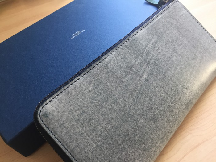 POTER WALL(ポーター ウォール)L字ファスナー 長財布|人生初の長財布はやっぱりポーターを選びました