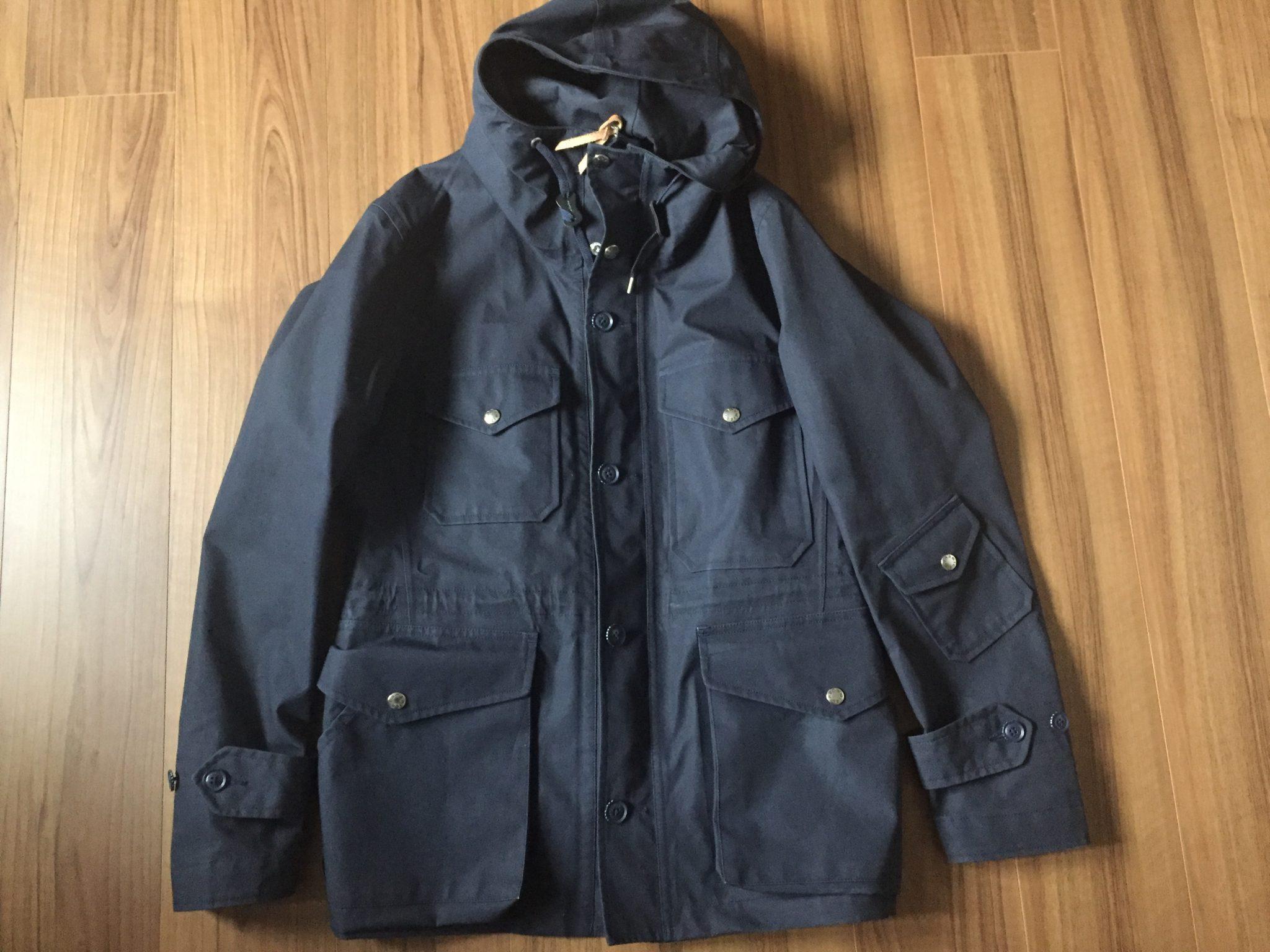購入当初 nanamica(ナナミカ)GORE-TEX Cruiser Jacket