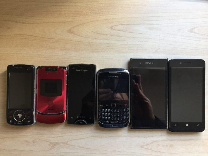 MOTORAZR(モトレーザー) experiaRay Blackberry PRADAphone