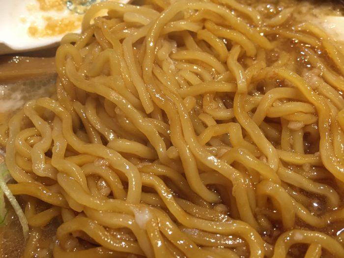 元楽 特製元らーめんの麺