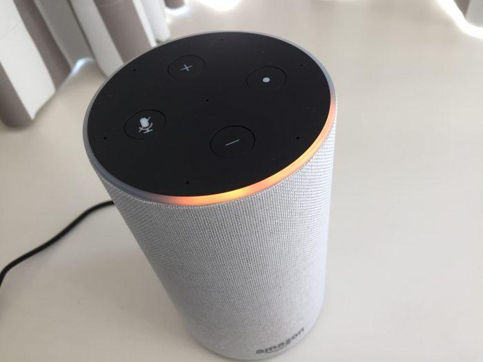 Amazon Echo セットアップ中