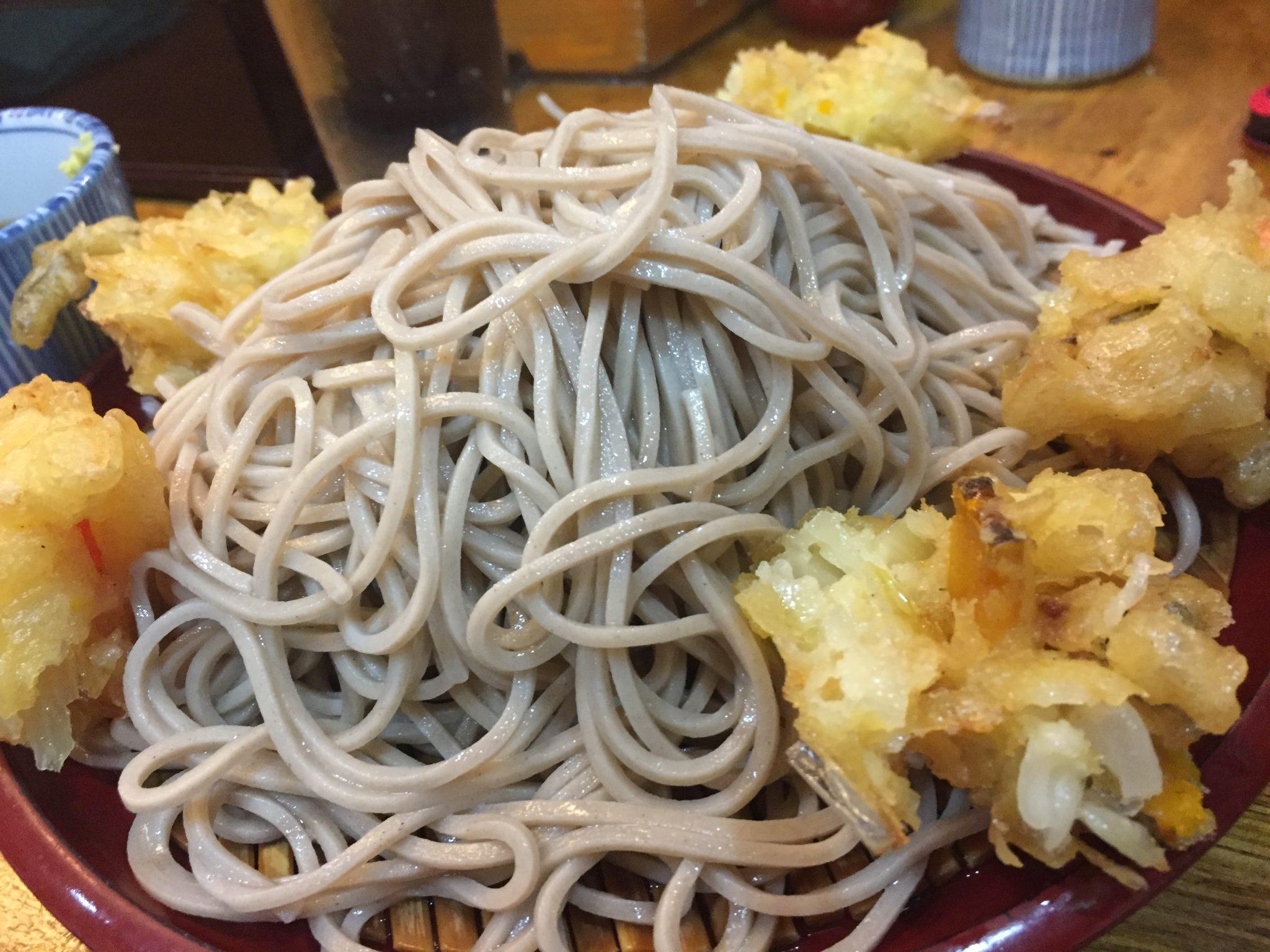 歌舞伎そば|東銀座でそばランチ~老舗の名物「もりかき揚げ」を食べてきました