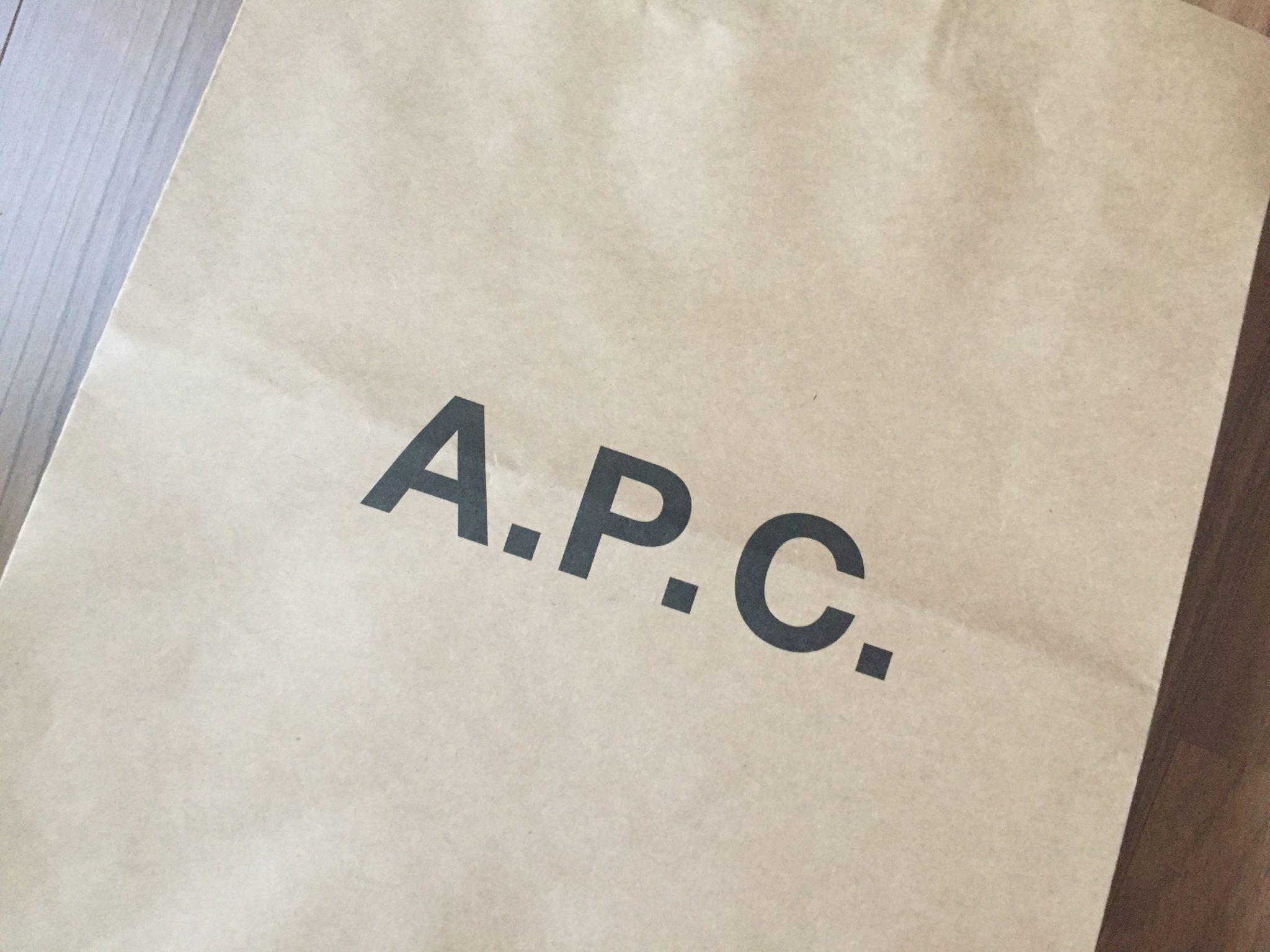 A.P.C. Petit New Standard 29|2本目のプチニューを購入。ジャストより少しゆったりめのサイズをキレイに大切に穿いていきます。