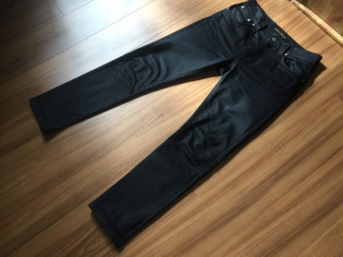 NudieJeans ThinFinn BlackRing 洗濯前の全体観