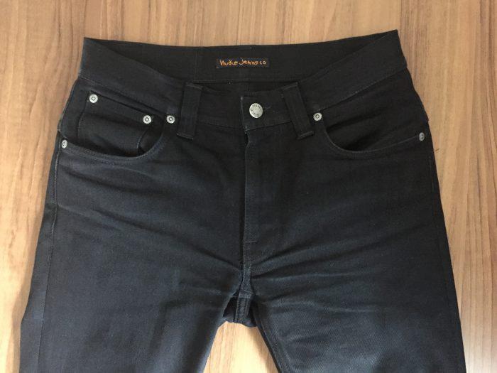 NudieJeans ThinFinn BlackRing 洗濯前のヒゲ