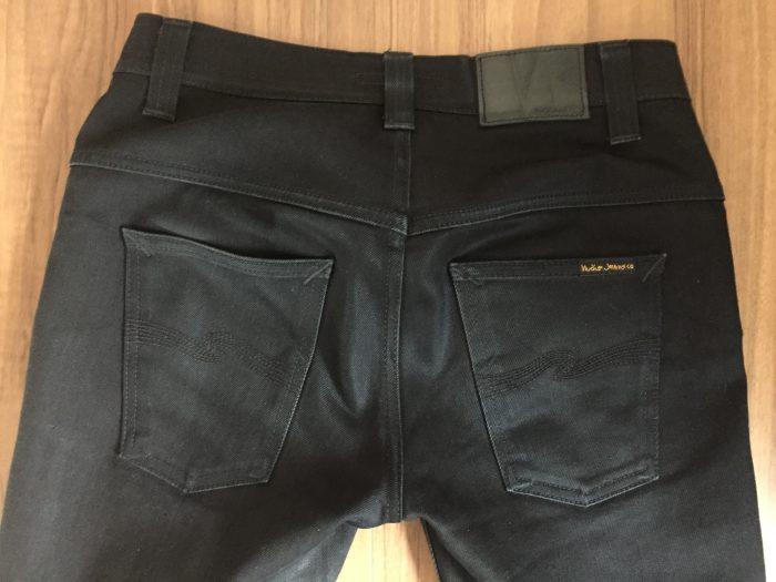 NudieJeans ThinFinn BlackRing 洗濯前のヒップ