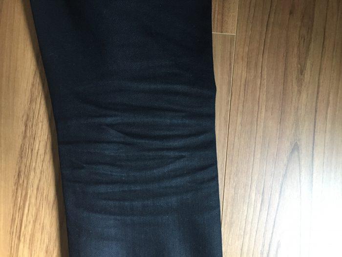NudieJeans ThinFinn BlackRing 洗濯前のハチノス