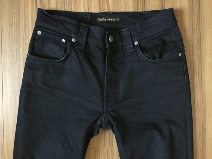 NudieJeans ThinFinn BlackRing 洗濯後のヒゲ
