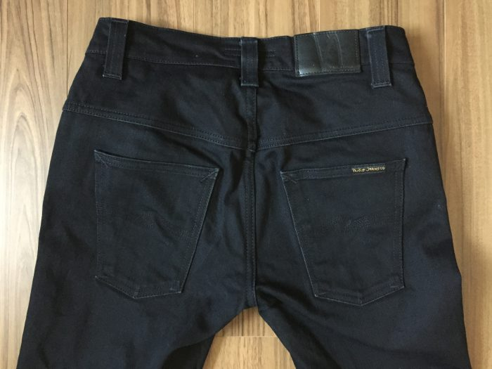 NudieJeans ThinFinn BlackRing 洗濯後のヒップ
