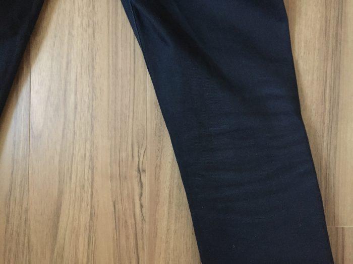 NudieJeans ThinFinn BlackRing 洗濯後のハチノス