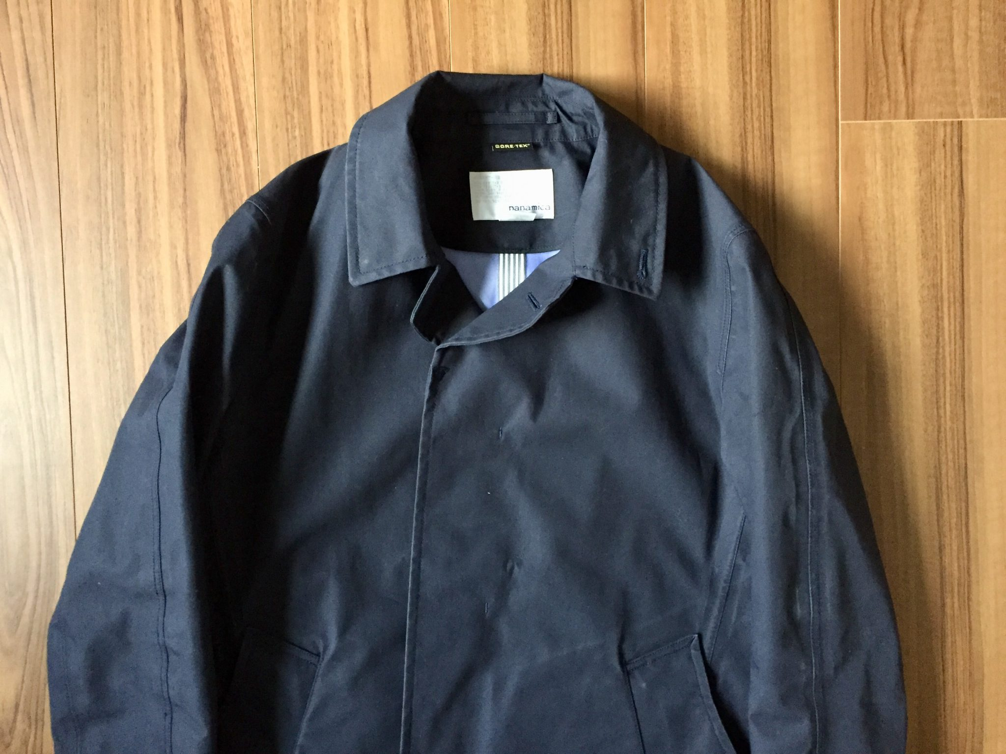 nanamica GORE-TEX Soutien Collar Coat(ナナミカ ゴアテック ステンカラーコート)|10年着れるコットンゴアに魅了されて、2着目としてステンカラーコートを購入