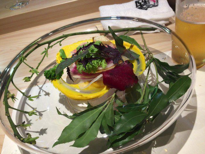 庭 Garden of four seasons (ガーデンオブフォーシーズンズ) 無農薬野菜の庭園風サラダ