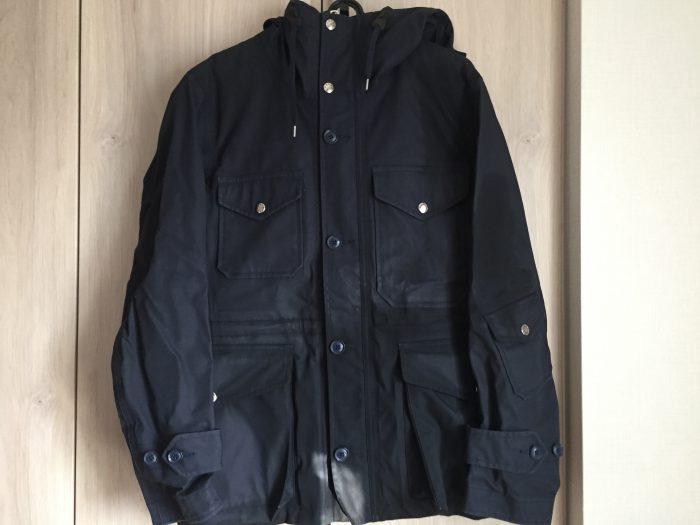 ## nanamica(ナナミカ)GORE-TEX Cruiser Jacket 洗濯 乾燥後