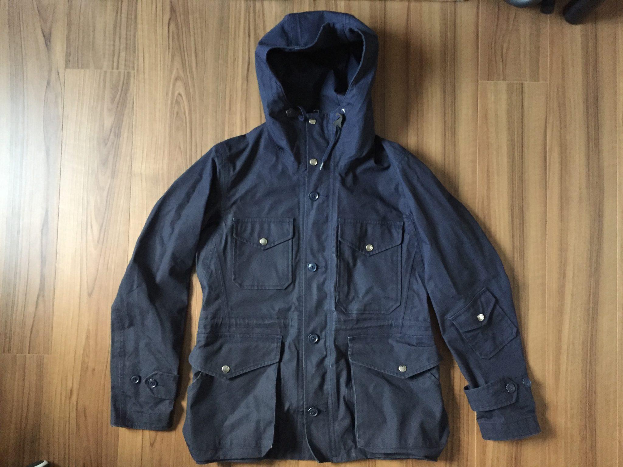 nanamica(ナナミカ)GORE-TEX Cruiser Jacketを自宅で洗濯&乾燥機にぶちこんでさっぱりさせた