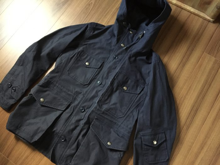 nanamica(ナナミカ)GORE-TEX Cruiser Jacket ガンガン乾燥させた後