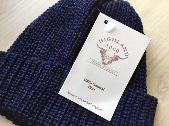 HIGHLAND 2000 ハーフカーディガン ボビーキャップ|春夏にピッタリのハイランドの浅めのコットン素材ニ...