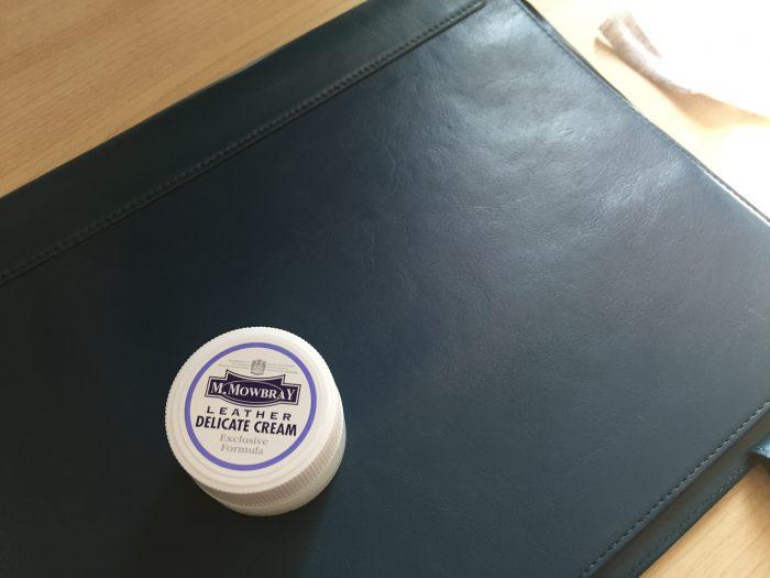 Business Leather Factory ノートカバー レザー  デリケートクリーム