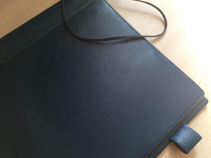 Business Leather Factory ノートカバー レザー  メンテナンス