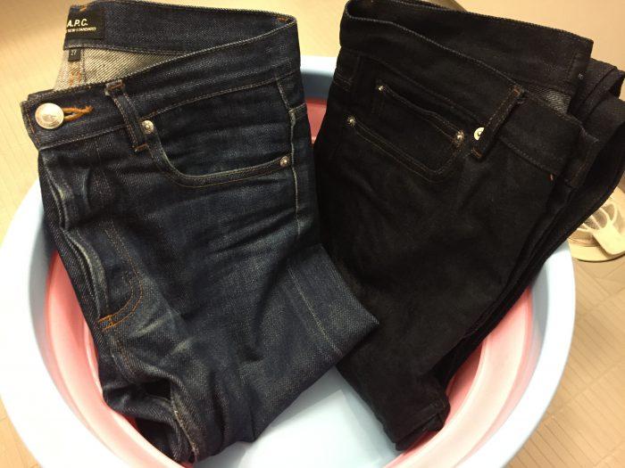 ジーンズの洗濯&乾燥記録|A.P.C. PetitNewStandard(プチニュー)2本とNudieJeans LeanDean(リーンデ...