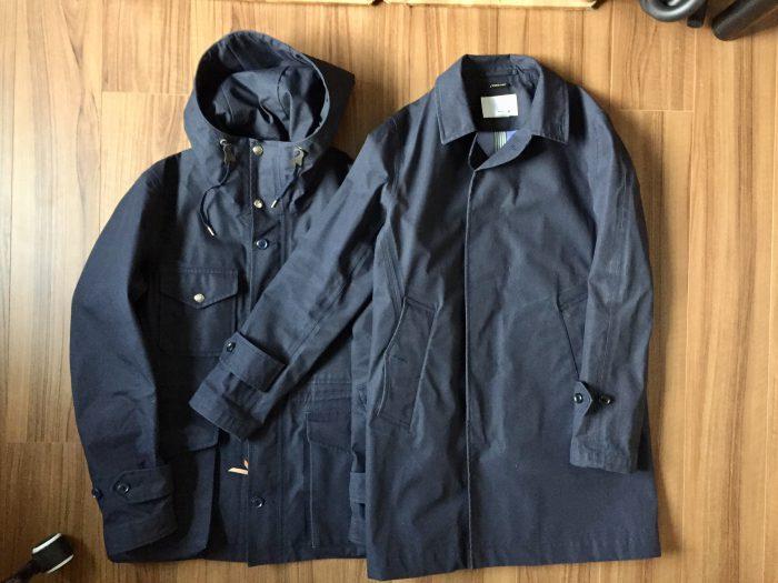 nanamica GORE-TEX Soutien Collar Coat(ナナミカ ゴアテック ステンカラーコート) クルーザージャケット