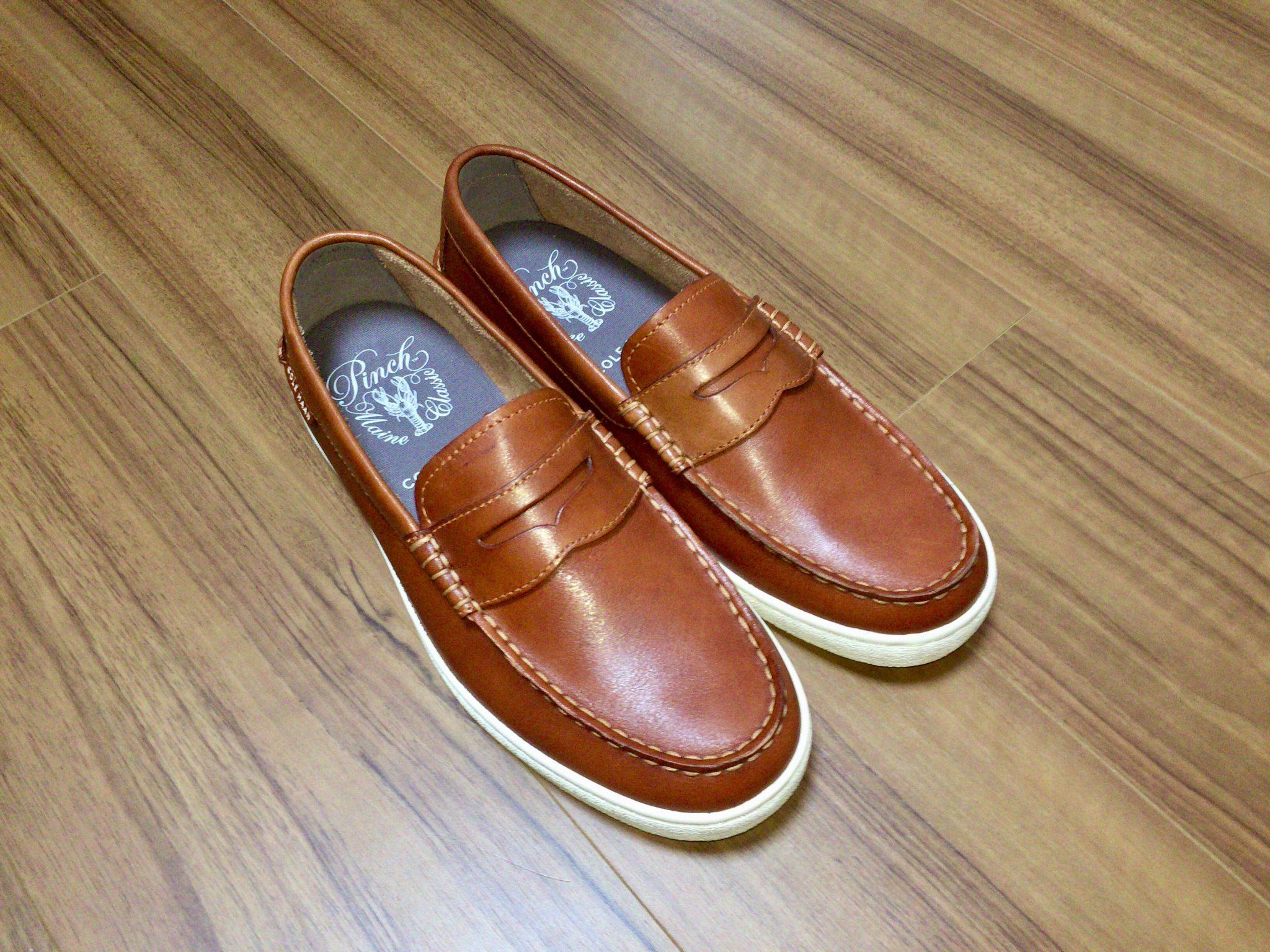 コールハーン(COLE HAAN)ピンチウィークエンダー|足が痛いウィークデーに履くスニーカーソールのレザーローファーを購入
