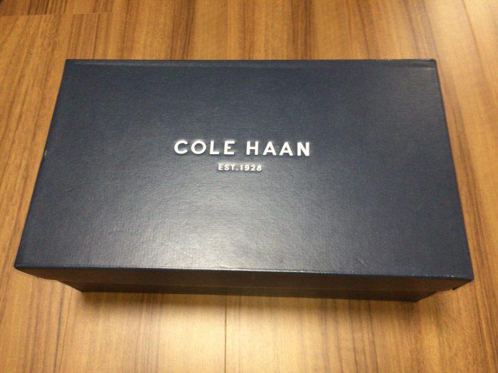 コールハーン(COLE HAAN)ピンチウィークエンダー 外箱