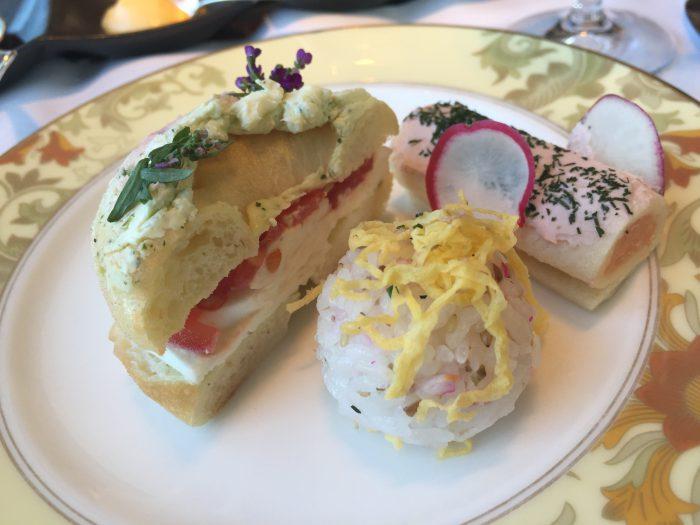 シャングリ・ラ ホテル 東京 アフタヌーンティー サンドイッチ