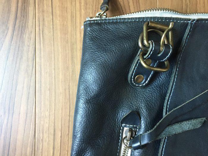 BAGGY'S ANNEX(バギーズアネックス) 3wayトート&リュック  レザーバッグ お手入れ後 補色