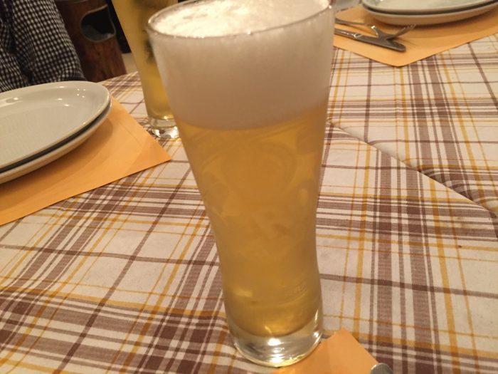 ベッラ・ナポリ 生ビール