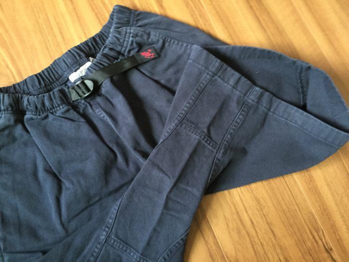 コットン100%のグラミチ Gショーツ(Gramicci G-Shorts)の魅力 ガゼットクロッチ