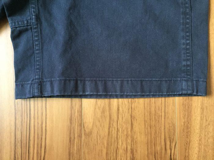 コットン100%のグラミチ Gショーツ(Gramicci G-Shorts)の魅力 ネイビー エイジング 色落ち 経年変化