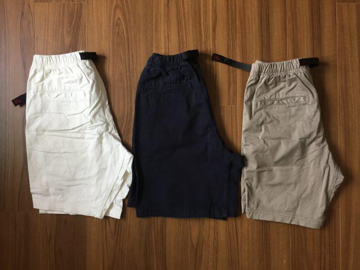 コットン100%のグラミチ Gショーツ(Gramicci G-Shorts)の魅力 NNショーツ ニューナロー 違い
