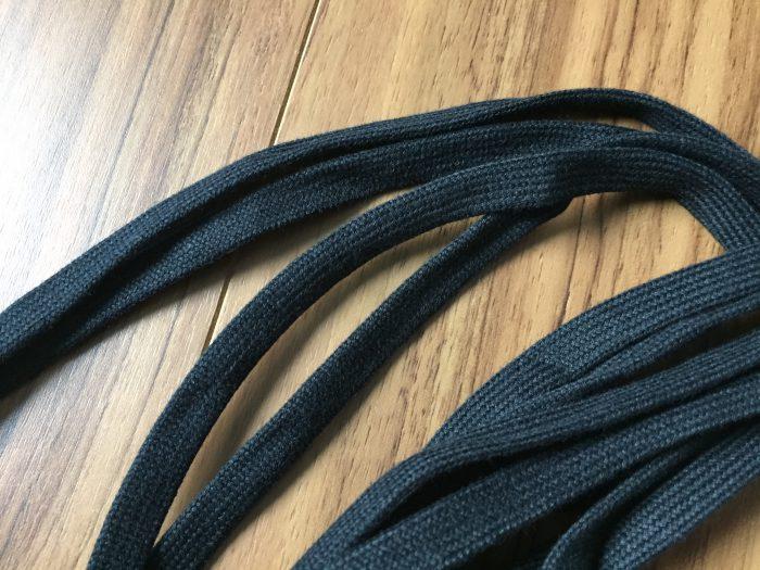 This is... コットンシューレース 靴紐 黒