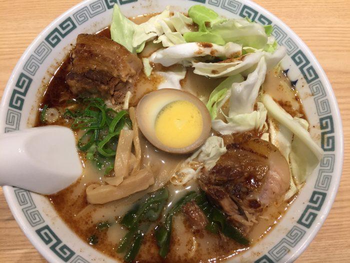 桂花ラーメン 太肉麺 ターローメン