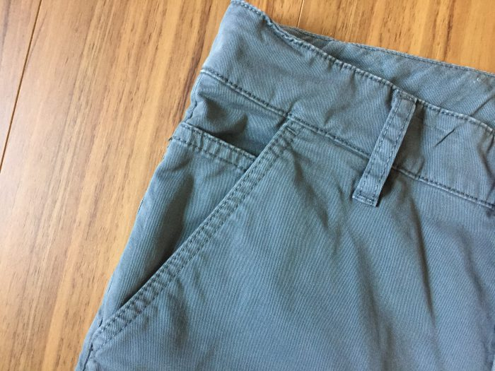 NudieJeans(ヌーディジーンズ)Slim Adam エイジング(経年変化) ポケット ステッチ アタリ