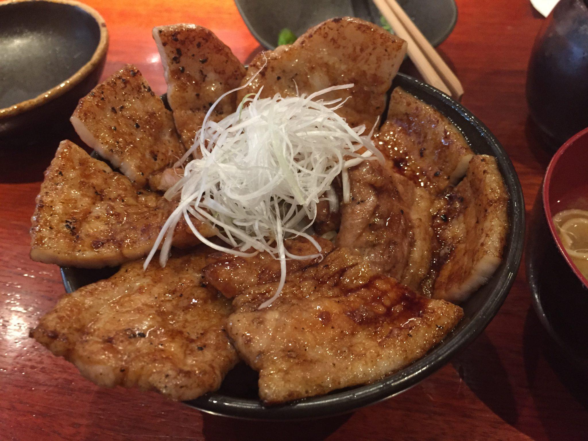 豚っく|上野御徒町で豚丼ランチ