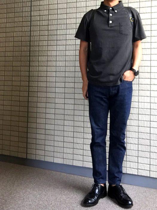 Good On(グッドオン)ショートスリーブポロシャツ 着用 コーディネート