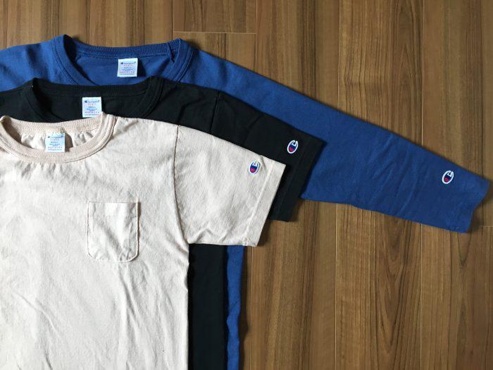 Champion(チャンピオン)T1011~10年着れる7.1ozコットンTシャツの3枚目はピンクにチャレンジ