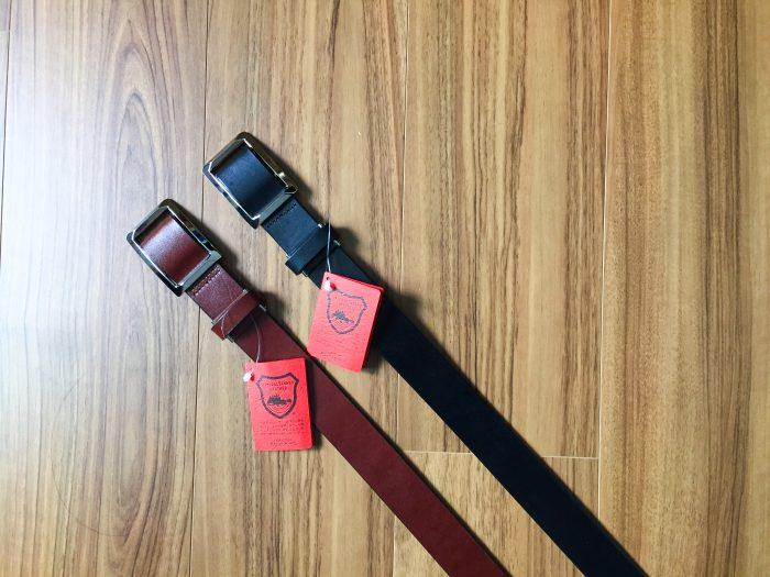 栃木レザー 無段階スライド式ベルト~レングスの長さへの拘りを解消する革ベルトを購入